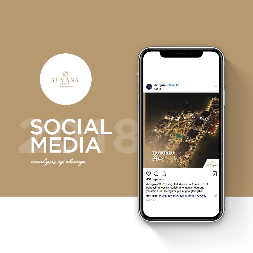 Yuvana Evleri - Sosyal Medya Yönetimi