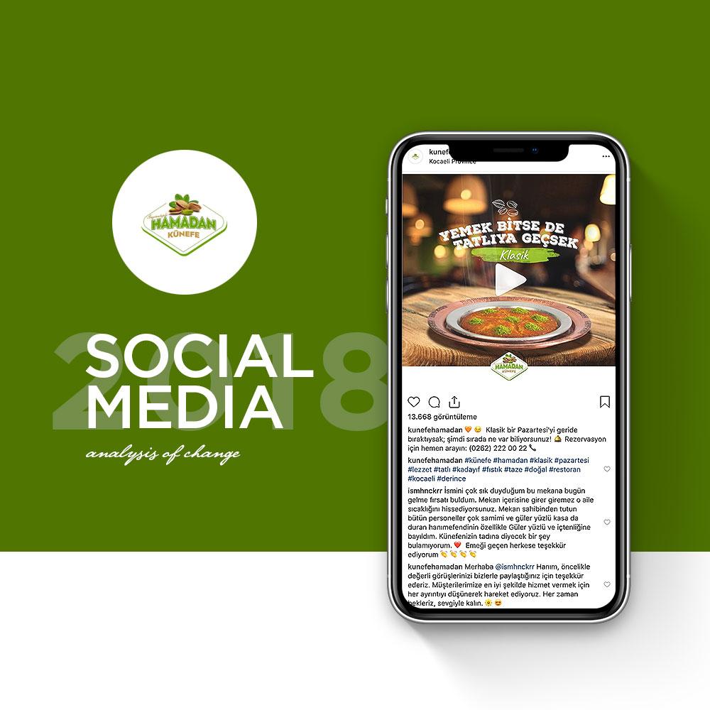 Hamadan Künefe - Sosyal Medya Yönetimi