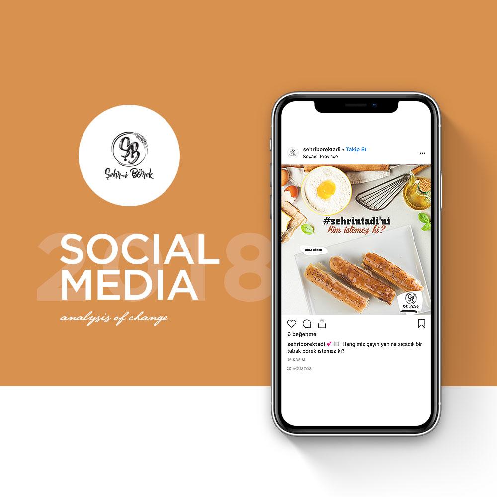 Şehr-i Börek - Sosyal Medya Yönetimi