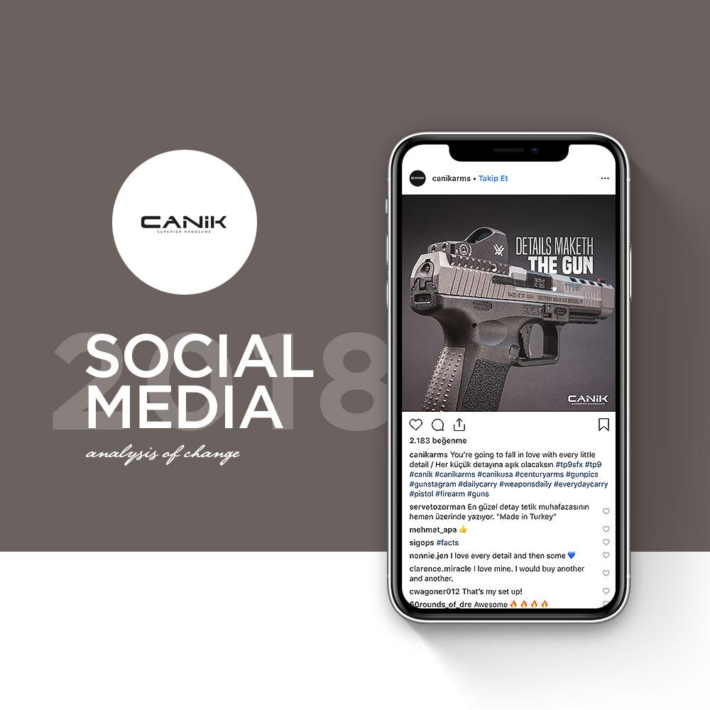 Canik Arms - Sosyal Medya Yönetimi