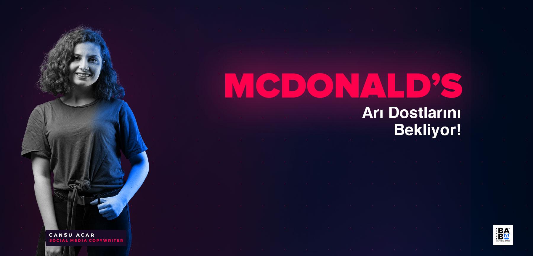 DÜNYANIN EN KÜÇÜK RESTAURANTINI AÇAN McDonald's, ARI DOSTLARINI BEKLİYOR!