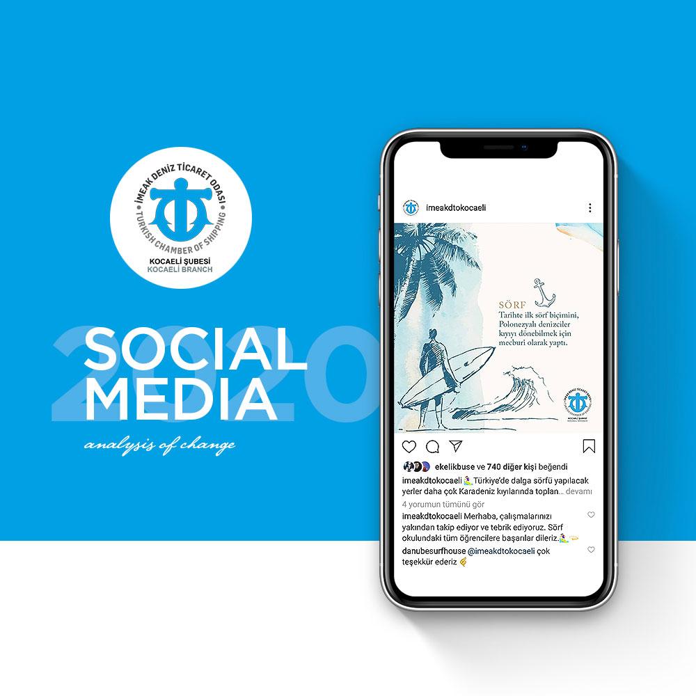 Deniz Ticaret Odası 2019 - Sosyal Medya Yönetimi