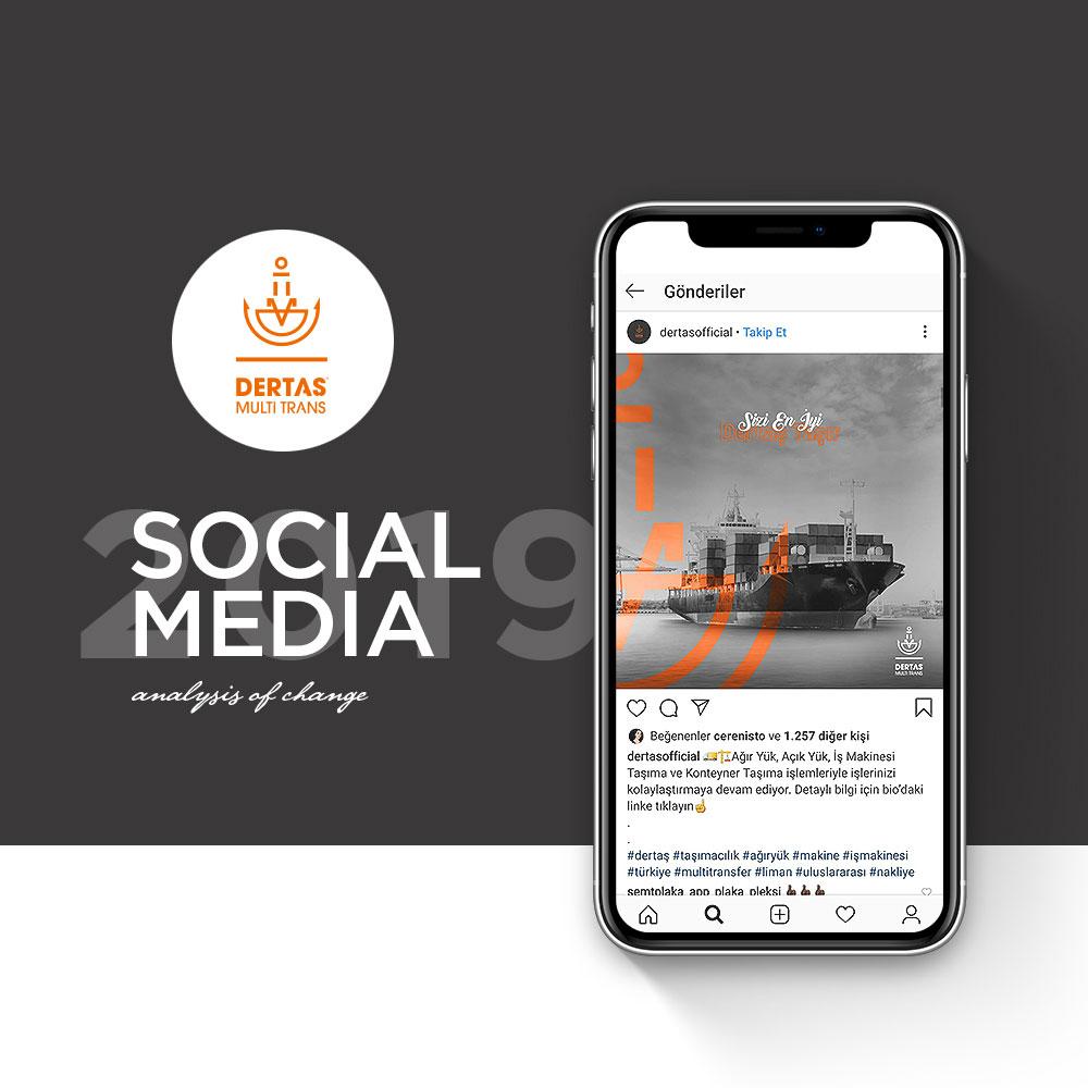 Dertaş - Sosyal Medya Yönetimi