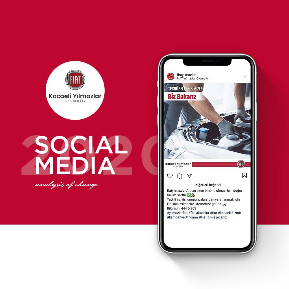 FIAT YILMAZLAR OTOMOTİV - Sosyal Medya Yönetimi