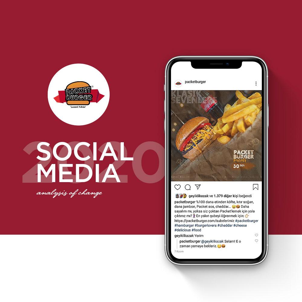 Packet Burger - Sosyal Medya Yönetimi