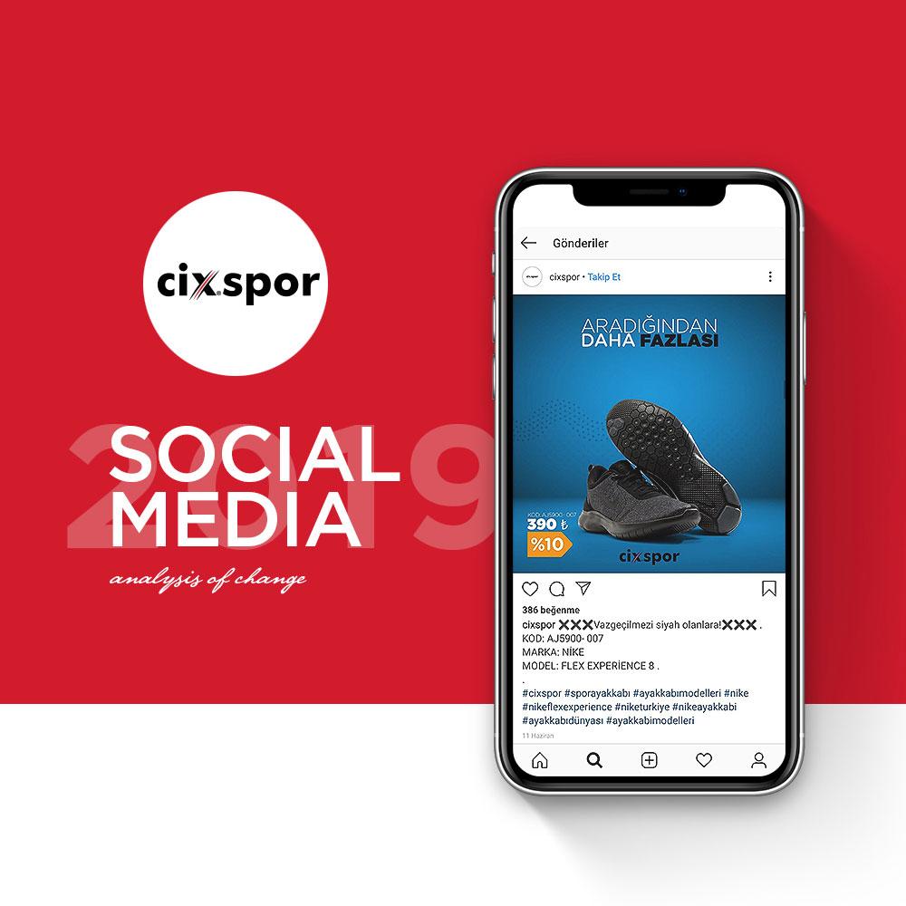 Cix Spor - Sosyal Medya Yönetimi