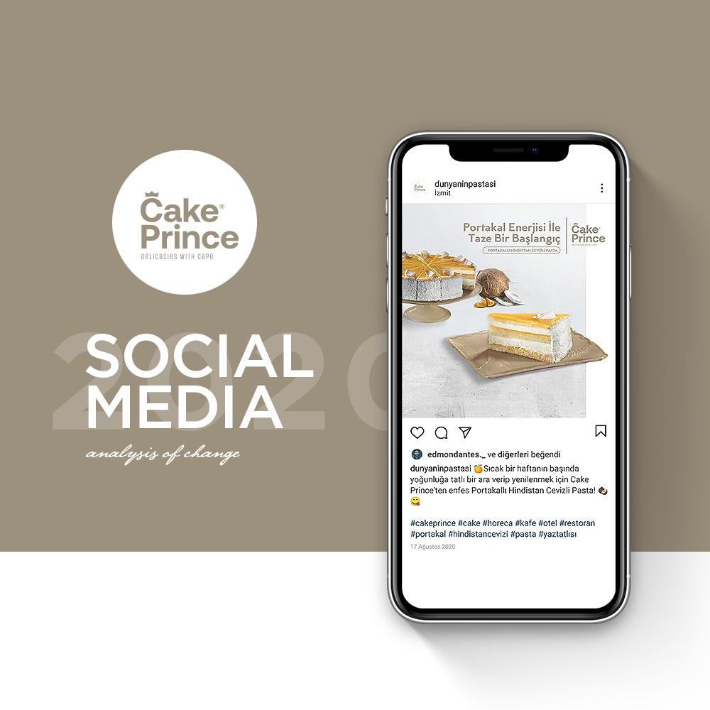 CAKE PRINCE - Sosyal Medya Yönetimi